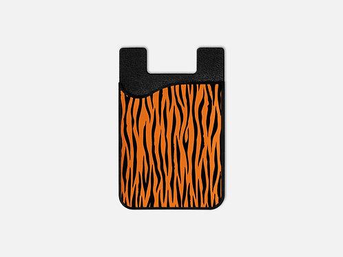 Tiger Print Card Holder