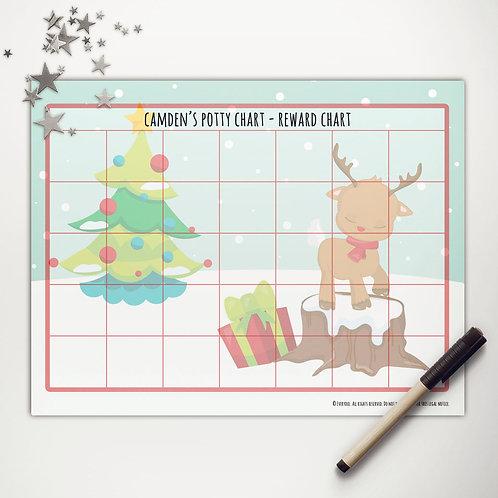 Rudolph Fun Basic Reward Chart