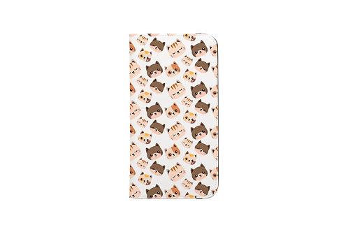 Cute Cats Folio Wallet Case