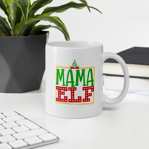 Mama Elf Winter Plus Vol. 1 Mug