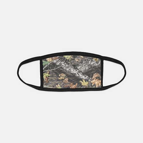 Hunting Camouflage Black Edge Face Cover