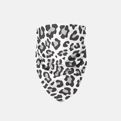 Snow Leopard Print Designer Bandana
