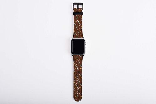 Yummy Sprinkles Chocolate Apple Watch Band