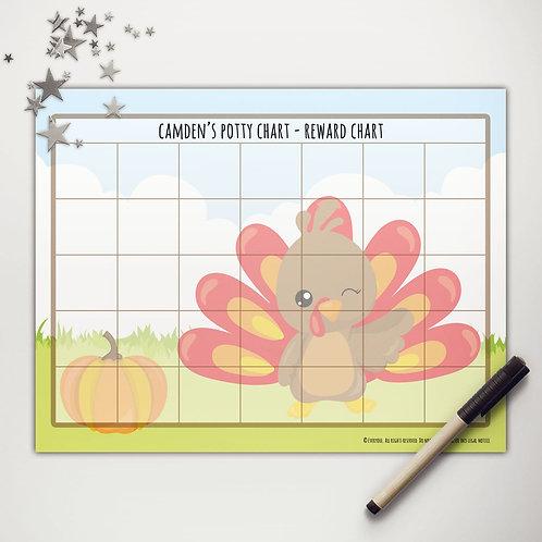 Little Turkey Basic Reward Chart