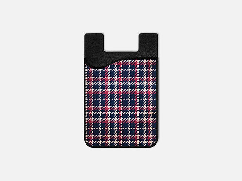 Grandpa's Plaid Card Holder