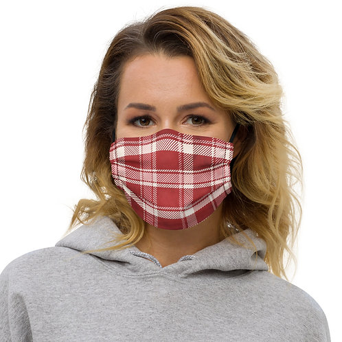 Valentine Flannel Passion Premium Face Cover with Pocket