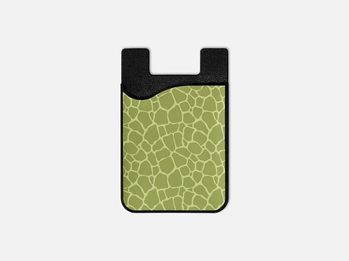 Crocodile Print Card Holder