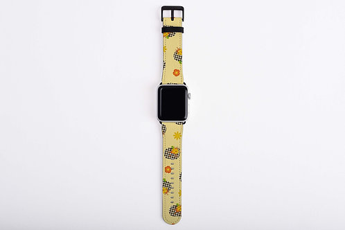 Fall Farm Truck Pumpkins Apple Watch Band