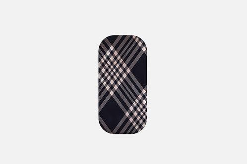Navy + Blush Luxury Plaid Designer Clickit