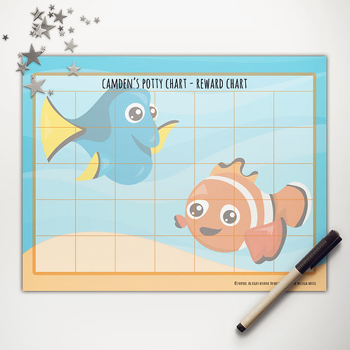 Finding Fish Basic Reward Chart