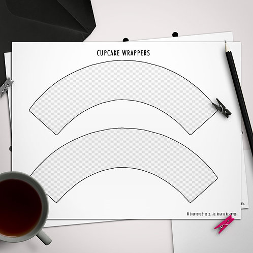 Basic Cupcake Wrappers Template