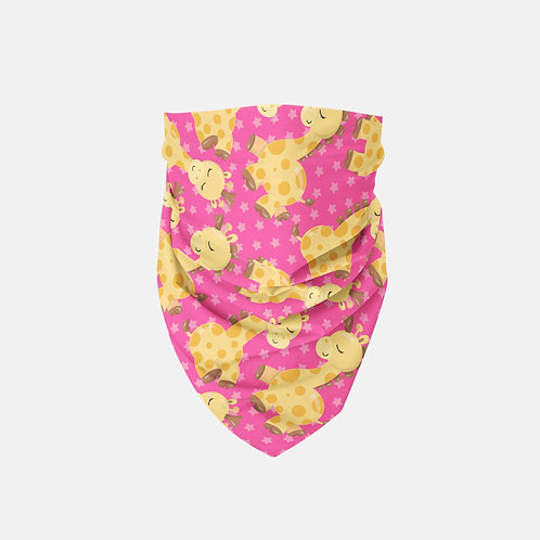 Bab Giraffe Pinkish Designer Bandana