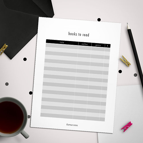 Books to Read PowerPoint Template