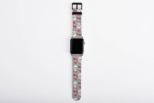 Anti-Valentines Voodoo Singles Day Designer Apple Watch Band