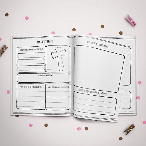 Child Prayer Journal - Pink