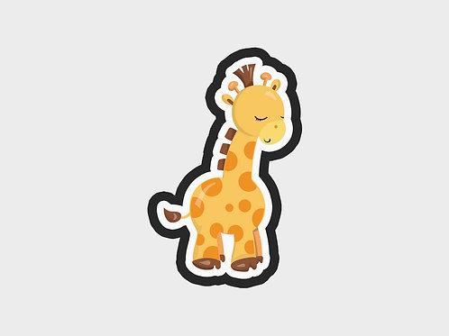Baby Giraffe Side View | Baby Giraffe Vol. 1 Cutter