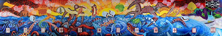 USP 50th Anniversary Mural