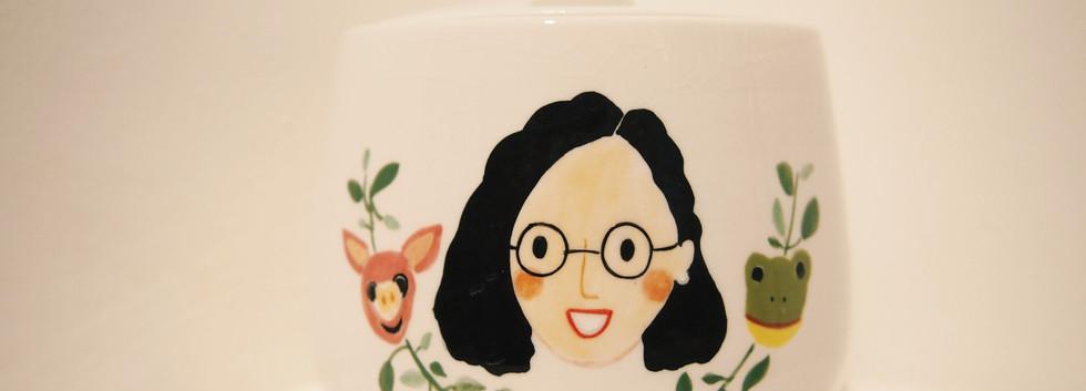 lady's guest pot
