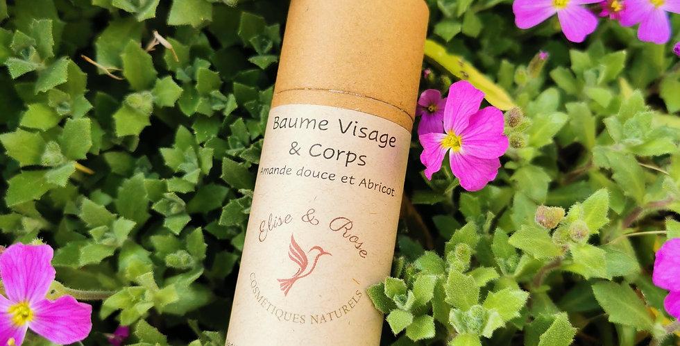 Baume Visage & Corps Amande douce et Abricot