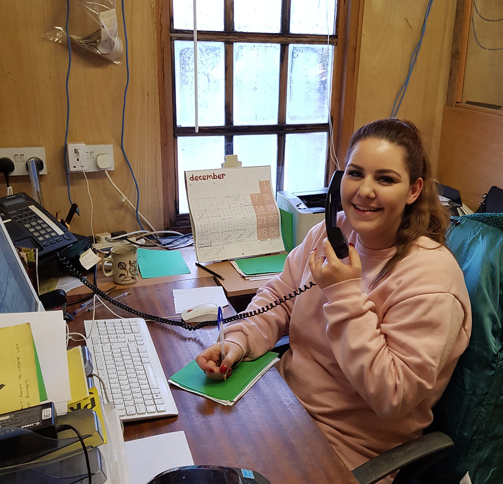 Hannah is ready to take your call