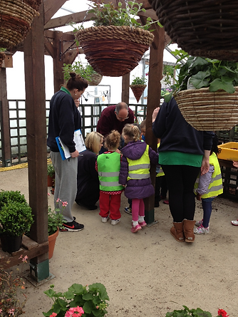 School groups are welcome to visit Allwoods