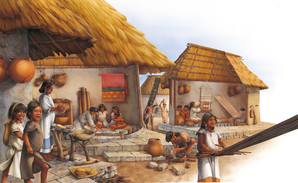 Aztecs cutout