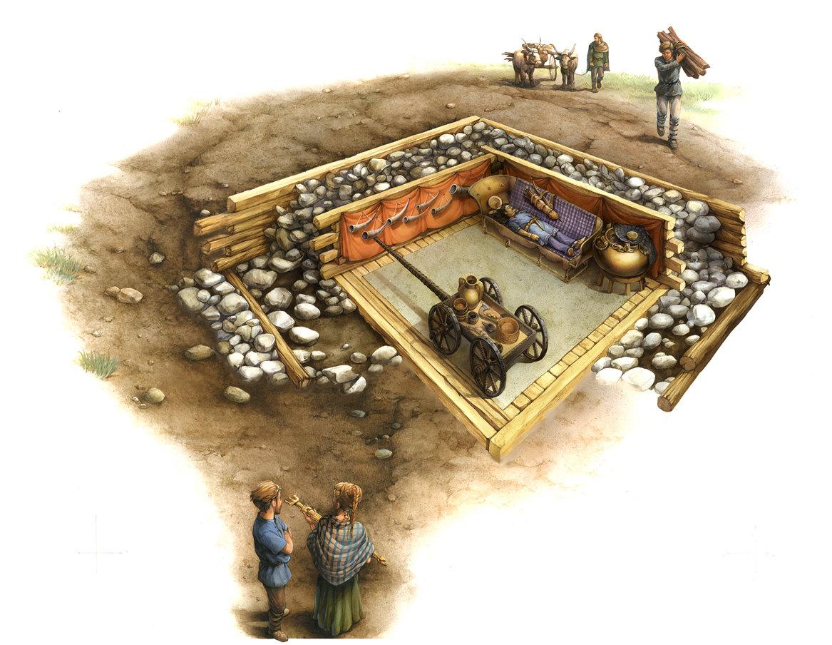 Celtic tomb