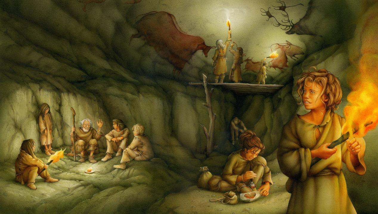 the Lascaux cave art