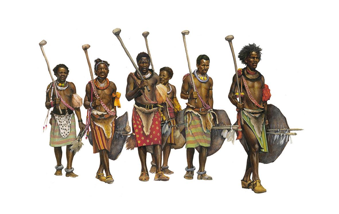 zulu worriors - South Africa