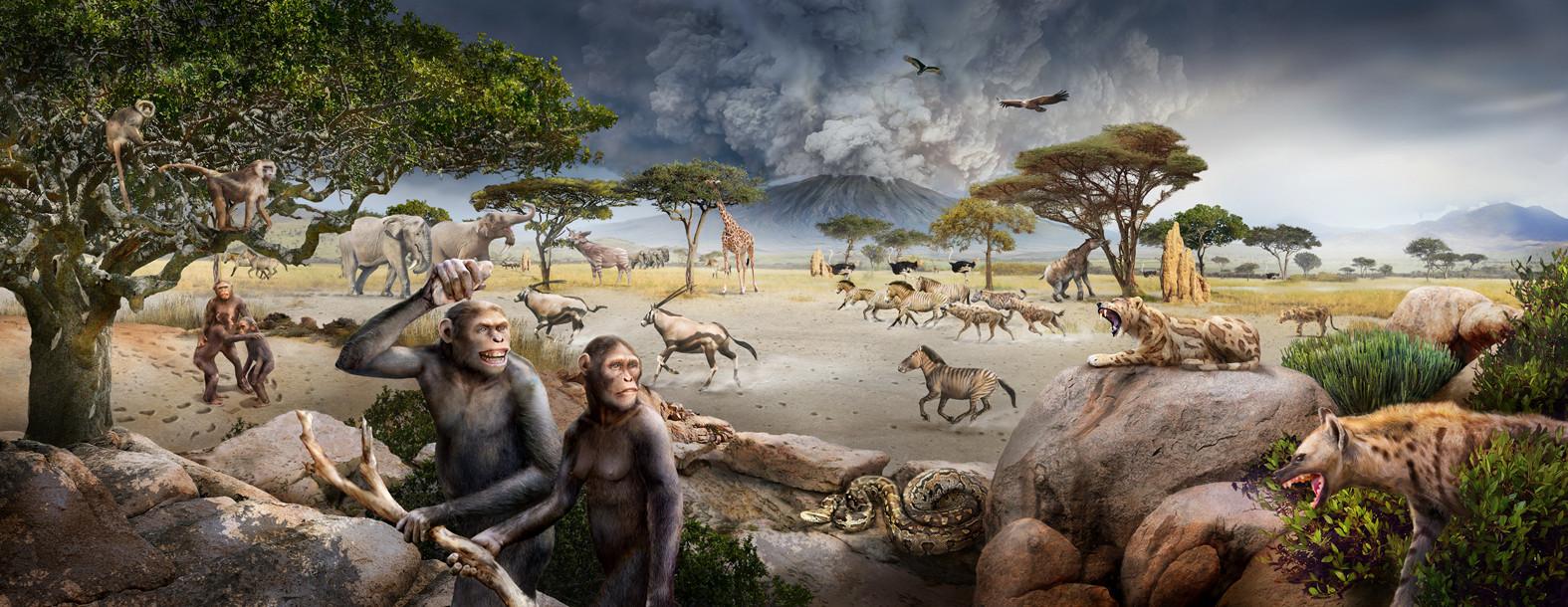 early people in Laetoli
