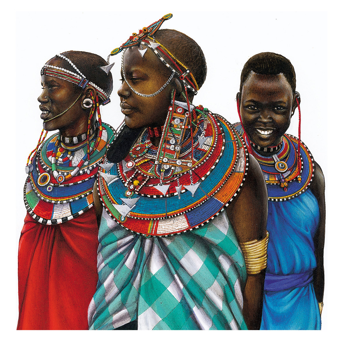 girls from Africa