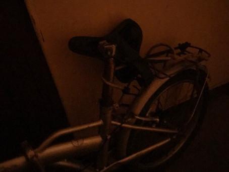 mon vélo...自転車が・・・