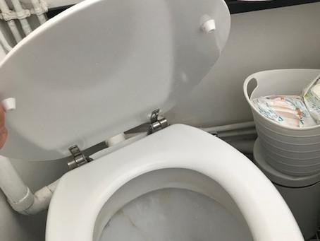 トイレトラブル再び