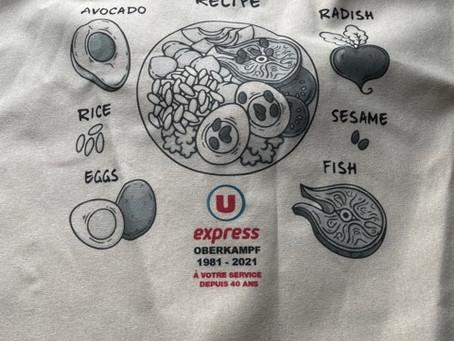 トートバッグ sac cotton