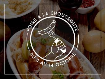 FOIRE A LA CHOUCROUTE | DU 3 AU 14 OCTOBRE