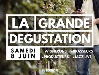 LA GRANDE DÉGUSTATION | SAMEDI 8 JUIN