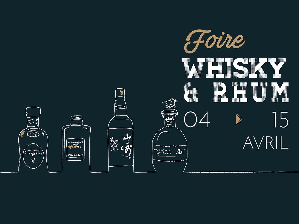 Foire aux Whiskies et Rhums Avril 2017