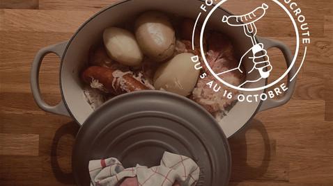 Foire à la Choucroute   du 5 au 16 Octobre