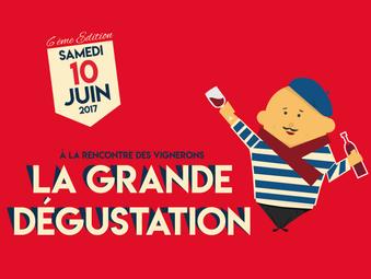 LA GRANDE DEGUSTATION | SAMEDI 10 JUIN