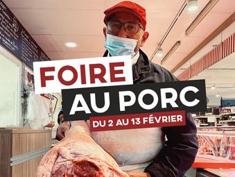 FOIRE AU PORC | DU 2 AU 13 FÉVRIER