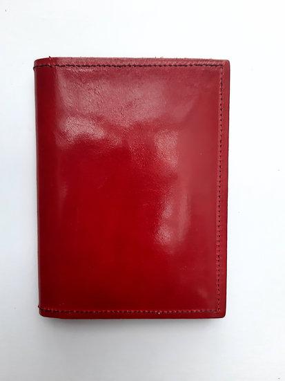 portefeuille rouge/noir