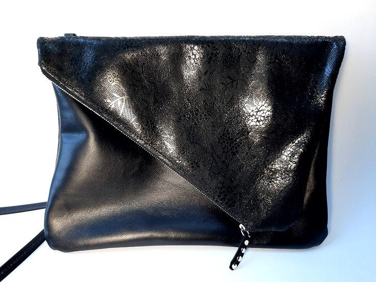ann's bag GM noir/noir dentelle