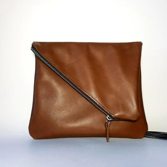 ann's bag camel foncé
