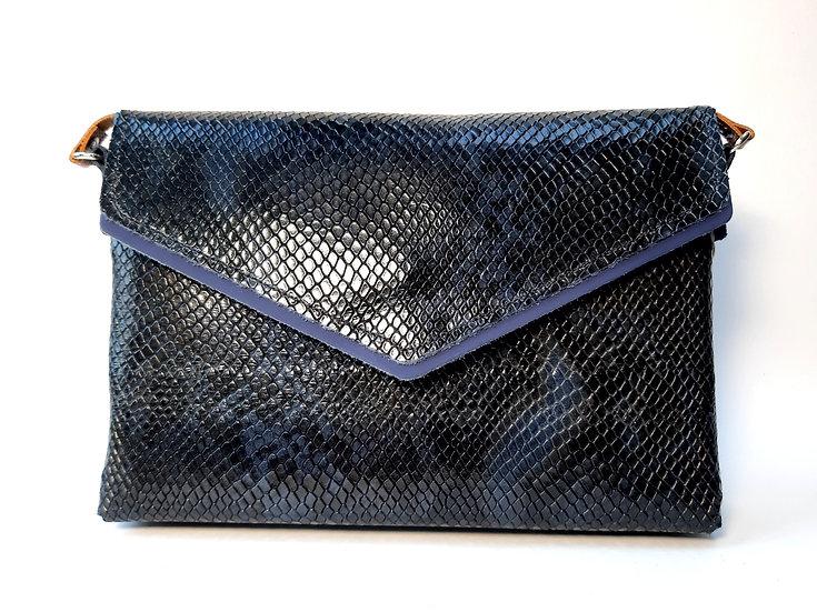 Le Very chic python bleu