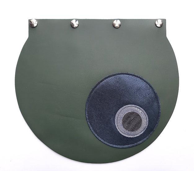 rabat vert grisé/bleu grisé