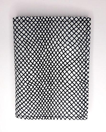 portefeuille blanc/noir