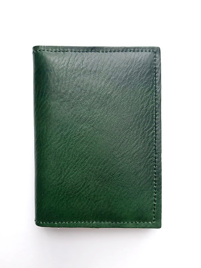portefeuille vert/noir