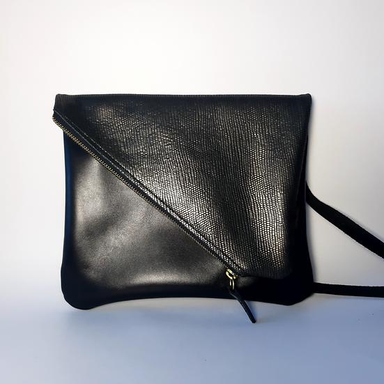 ann's bag PM noir/noir doré