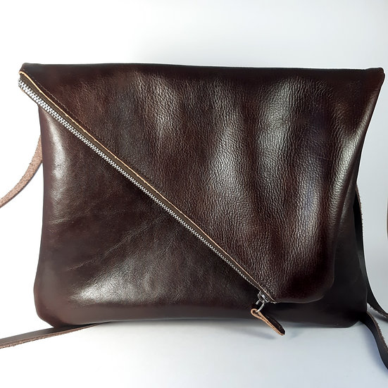 ann's bag GM marron
