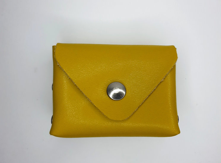 porte monnaie jaune